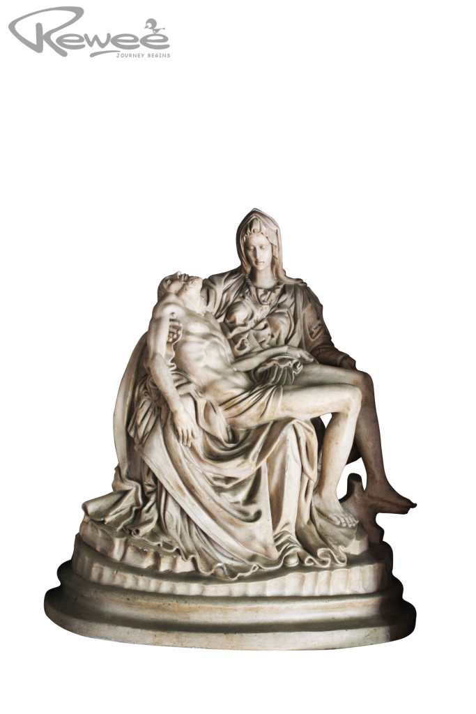 Statuette (Pieta - Jesus on the lap of his mother Mary after the Crucifixion)