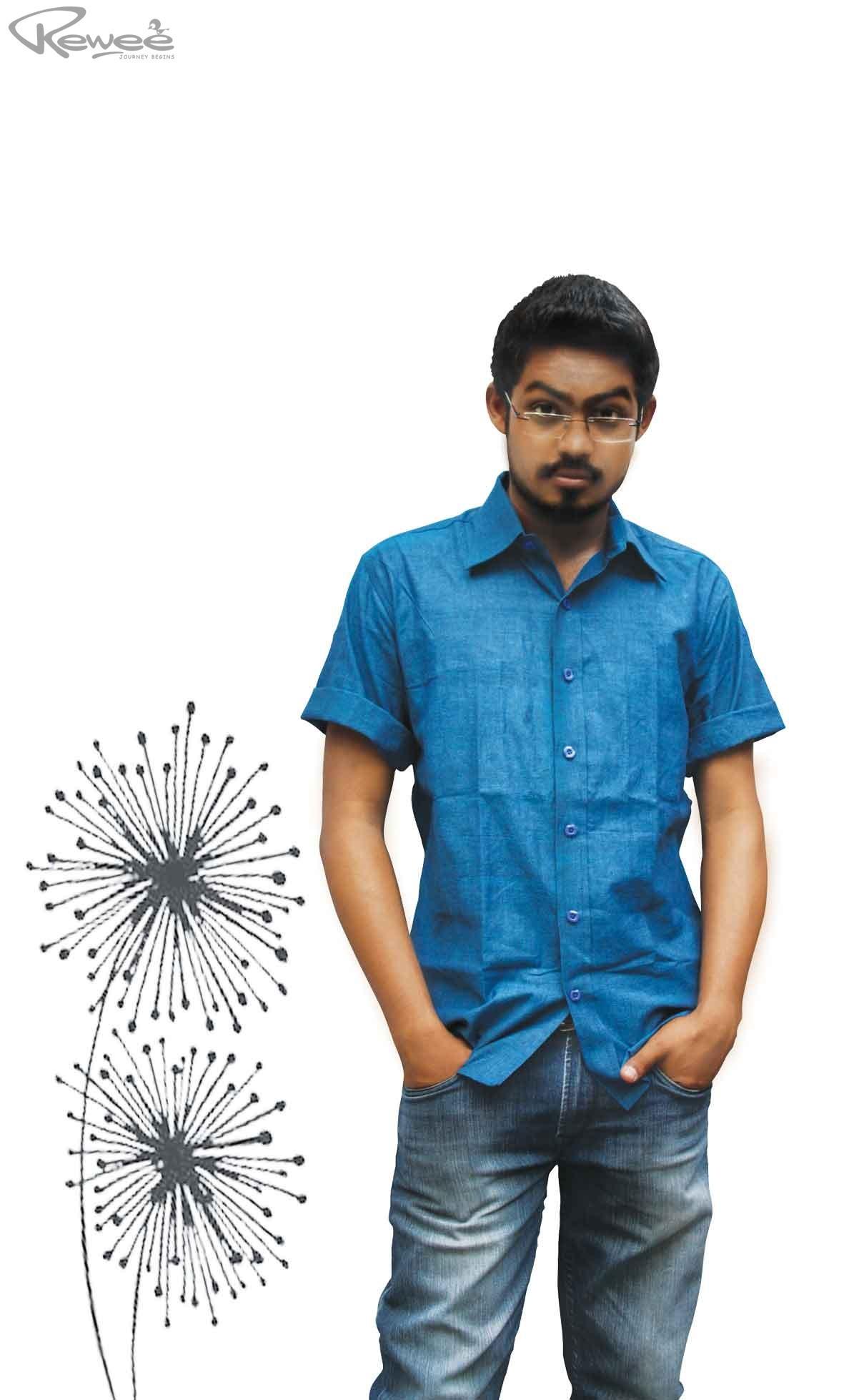 Khadi Half Sleeve Shirt 4