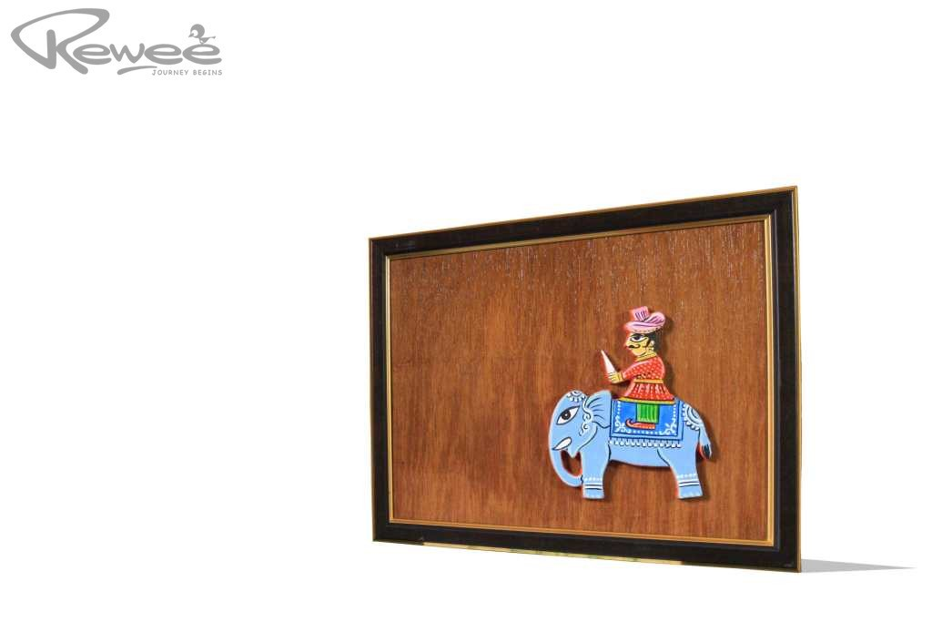 Gift 3 (Clay Art on Plywood)